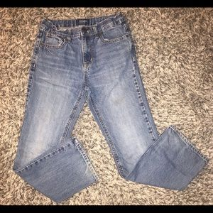 Old Navy Bottoms - Old navy loose fit straight jean pants lot boy 12